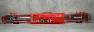 New Craftsman 1 2 Drive Digital Torque Wrench Cmmt99436 50 250 Ft Lbs Sealed