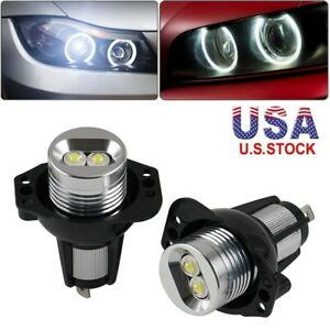 Led Angel Eye Halo Ring Marker Light Bulbs For Bmw 3 Series 328i 325i 335i 330i