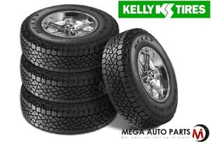 4 Kelly Edge A t 265 60r18 110s Owl All Terrain Truck Tires 50000 Mile Warranty