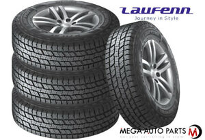 4 Laufenn X Fit At 265 65r18 114t All Terrain Truck Cuv Suv 45000 Mile A t Tires