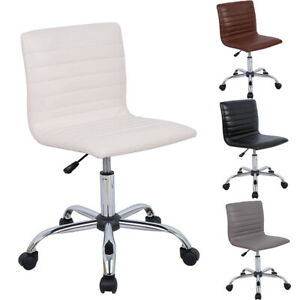 Office Chair Computer Chair Adjustable Armless Swivel Conference Room Chair