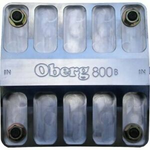 Oberg Filters 8060 800 Series Oil Filter 8 Billet Aluminum 16an O ring Ports Wi