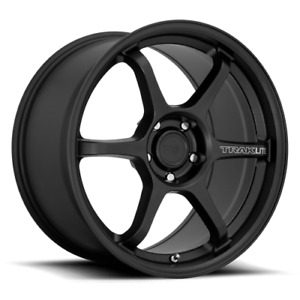 Motegi Traklite 3 0 18x8 5 5x100 Satin Black 42mm Wheel Rim
