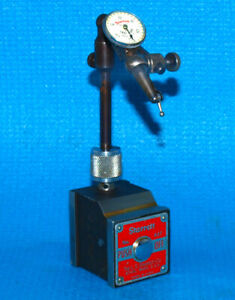 Starrett 657 a Magnetic Base Last Word 711 Dial Indicator