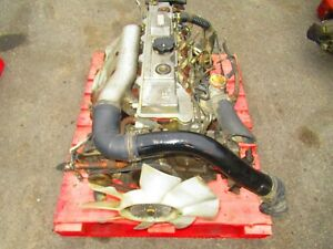 Jdm Mitsubishi Canter 4m40 2 8l Diesel Engine 5 Speed Manual Transmission 4m40kc