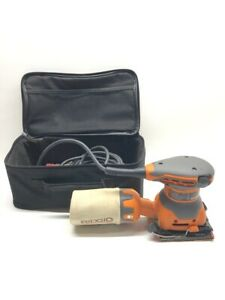 Ridgid R2501 Corded electric 1 4 Sheet Sander With Airguard Bag cmp037069
