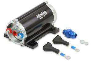 Holley 12 170 Universal In Line Electric Fuel Pump 100 Gph 8 Psi 10 An Female