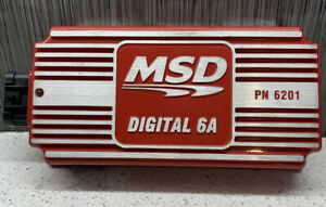 Msd 6201 Digital 6a Ignition Control Box Used Free Shipping