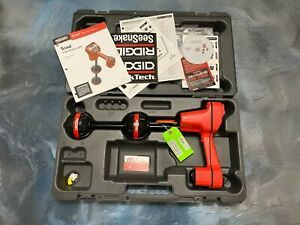 Never Used Ridgid Navitrack Scout Sonde line Locator W Storage Case