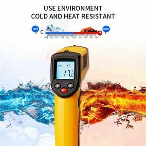 Non contact Digital Lcd Infrared Laser Thermometer Gun Digital Forehead Hot