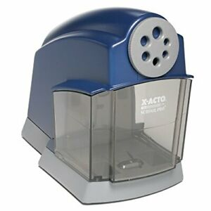 X acto School Pro Classroom Electric Pencil Sharpener Blue 1 Count