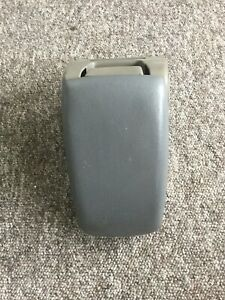 1987 93 Mustang Grey Arm Rest Center Console Compartment Oem
