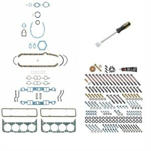 Fel pro Ks2600k Engine Gasket Fastener Kit 1967 1980 Small Block Chevy 265 283