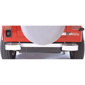 Rugged Ridge 11108 01 Rear Bumperettes Stainless Steel Jeep Cj And Wrangler