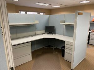 Cubicle partition System By Teknion Office Furniture