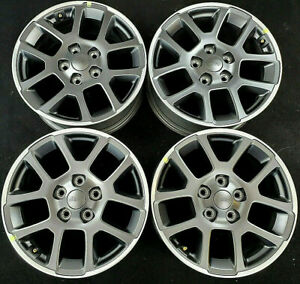 Jeep Grand Cherokee Gladiator Factory Original Oem 18 Alloy Wheels Rims 9241