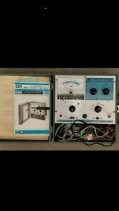 Electronics B k Model 465 Cathode Ray Tube Tester Working Good Condition