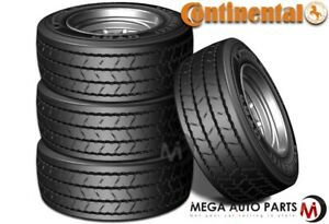 4 New Continental Htr2 235 75r17 5 H 16 Tires