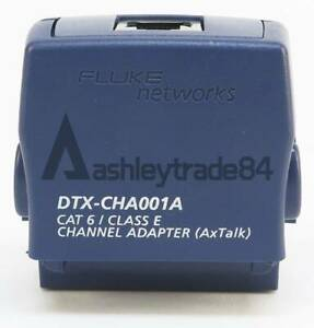 1pcs Used Dtx cha001a Cat 6 Channel Adapter For Fluke Dtx 1800 Dtx 1200