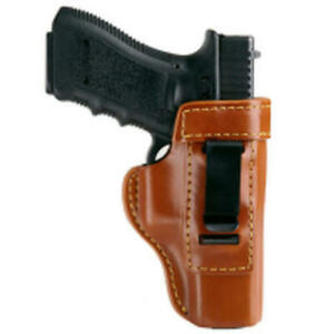 Gould Goodrich 890 g27 Brown Inside Trouser Compact Leather Holster For Glock