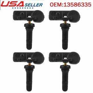 4x Gm Oem Tire Pressure Monitoring Sensors Tpms For Chevy Gmc 13586335 315mhz
