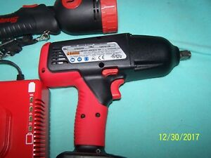 Snap on 6850 Cordless 18v Impact Vgc Used 39