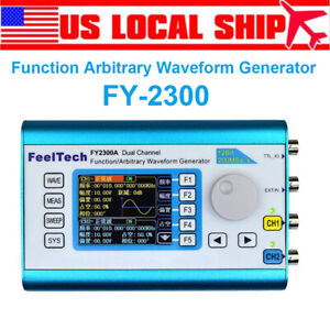 2 4 Feeltech Dual Channel Dds Arbitrary Waveform Function Signal Generator 20mh