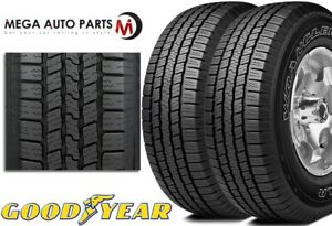 2 Goodyear Wrangler Sr a P235 70r15 102s Owl Highway All season Traction Tire