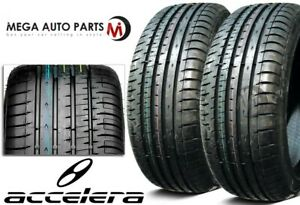 2 Accelera Phi R 175 50r15 75h All Season Ultra High Performance Uhp Race Tires