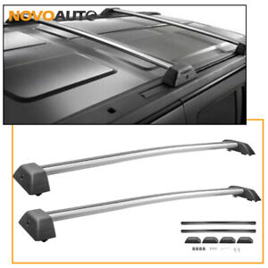 Top Roof Rack Cross Bars Aluminum For 2006 2010 Hummer H3 H3t Luggage Carrier