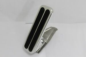 Universal Billet Polished Aluminum Floor Mount Gas Throttle Pedal Chevy Ford