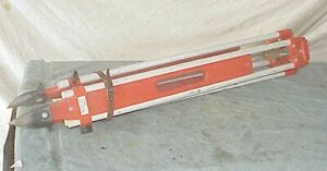 Vintage David White Realist Tripod Surveying Survey Aluminum Wood