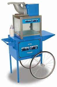 Benchmark 71000 Snowbank Snow Cone Machine W Cart