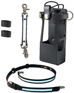 Boston Leather Bundle Three Items Anti sway Strap For Radio Strap Firefighter