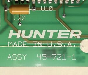 Hunter Wheel Alignment Machine Remote Reader Model K P211 Circuit Board 30 328 1