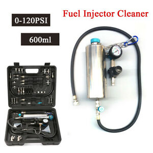 Non dismantle Fuel Injector Cleaner Cleaning Tool Fuel Air Intake System 600ml