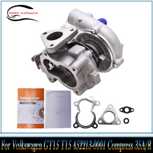 Small Turbo Fit For Volkswagen Gt15 T15 452213 0001 Compress 35a r