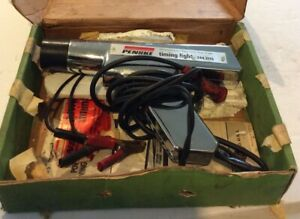 Sears Penske Timing Light Model 244 2115 Chrome Gun