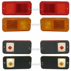 68 69 70 71 72 Chevy Gmc Pu Pickup Truck Side Marker Lights W o Chr Front Rear