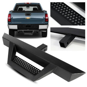 31 3 Tube Truck Suv Pickup Black Trailer Tow Hitch Step Bar For 2 Receiver