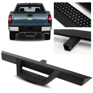 39 Long 3 Tube Black Rear Bumper Hitch Step For Truck Suv Pickup 2 Receiver