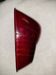 Vintage 1940 50 S Studebaker Tail Light Red Glass Lens In Decent Condition