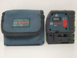 Bosch Gpl5 5 point Self Leveling Alignment Red Laser Level W Soft Case read