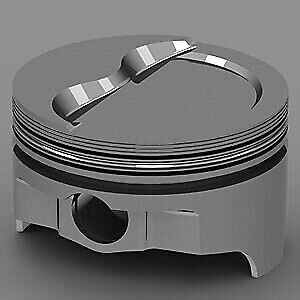 United Engine Machine Ic735 030 Chevy 383ci Forged Pistons