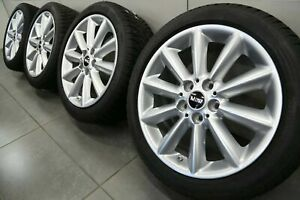 17 Inch Winter Tyres Orginal Mini Cooper Clubman F54 Styling 518 6856045 Rims