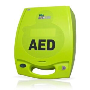 Zoll Aed Plus Excellent Cond 2 yr Warranty New Batteries 2022 Or 2023 Pads