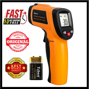 Infrared Thermometer Non contact Digital Laser Helect Infrared Temperature Gun