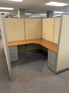 Cubicle partition System By Steelcase Kick 6ft X 6ft X 66 h