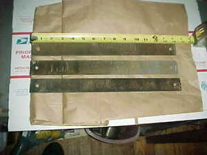 3 Auto Body 14 Two Sided Rasps File Blades Shop Hand Tools Heller Vixen Duro