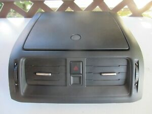 Ford Fusion 2010 2011 2012 Center Dash Storage Compartment A c Heat Vent Black